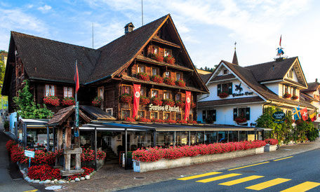 kinderfreundliches Restaurant Swiss-Chalet