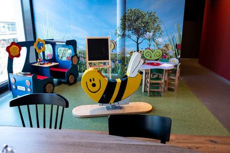 Kinder-Spielecke im Familien-Bereich des SPIGA Chur