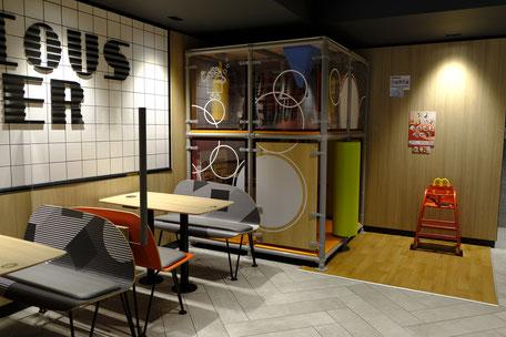 Spielecke im Familienrestaurant McDonald's