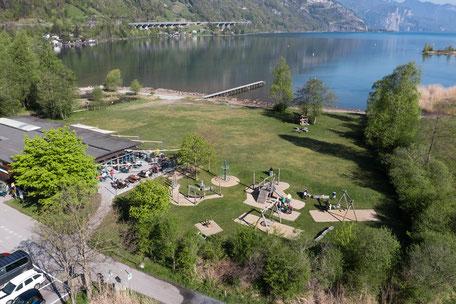 Ausflugs-Restaurant Seedorf mit Spielplatz