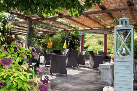 Spielplatz im familienfreundlichen Restaurant Holzstübli
