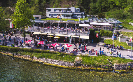 Familienfreundliches Ausflugsrestaurant Park am Rheinfall