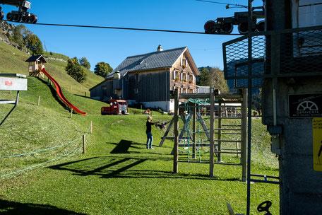 Spielplatz des Restaurants Holzstübli