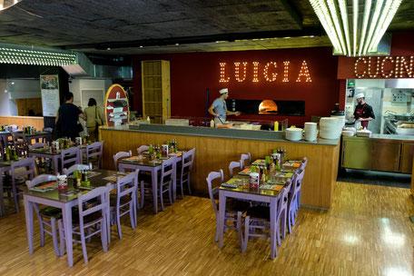 familienfreundliches Restaurant luigia