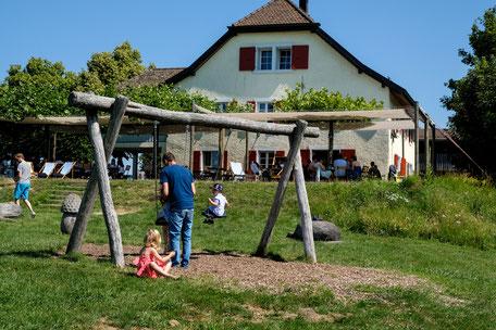 Ausflugsrestaurant mit Spielplatz