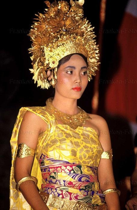 Braut auf Bali/Indonesien