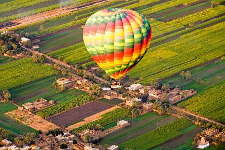 Balloonfahrt in ÄGYPTEN
