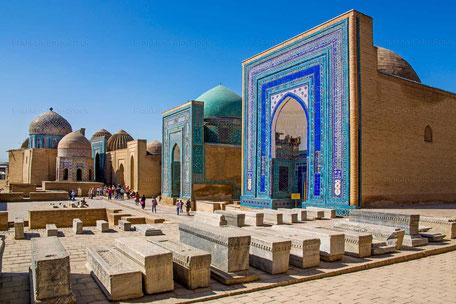 Graeberstrasse Shohizinda, Samarkand - USBEKISTAN