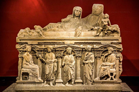Sarkophag aus  Perge,  Antalya - TÜRKEI