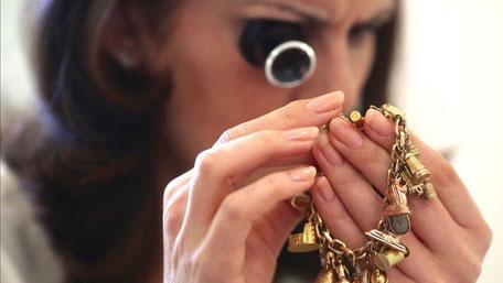 Schmuck Ankauf Altgold verkaufen Tageskurs Gold Gutachten Sachverständiger