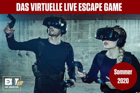 EXIT VR Virtuelles Escape Games für Firmenevent mieten