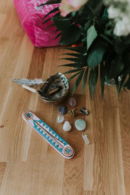 Mein Reise-Altar & Räucher-Equipment