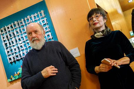 Enzo Valentinuz e Margherita Reguitti