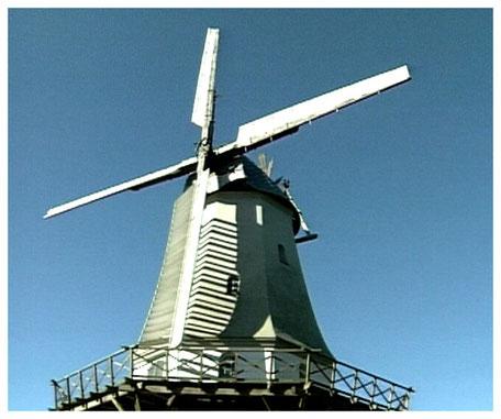 Historische Windmühle Sprengel 1877 erbaut