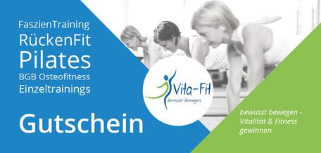 Gutschein von Vita-Fit, Bewegungsraum Hunzenschwil