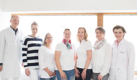 Ihr Team der Hausarztpraxis Salzstrasse