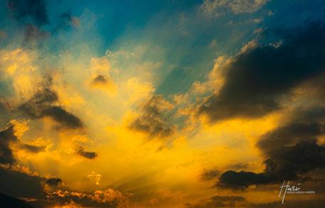 Sonnenuntergang - Farbenspiel