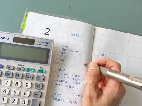 4コマノート 整理収納アドバイザー 家計簿