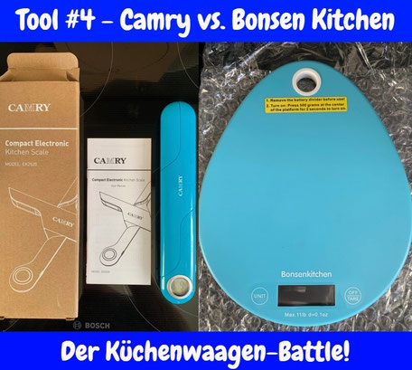 Küchenwaage Waage Bonsen Kitchen Camry Travel Keto