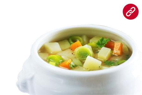 Kartoffel-Gemüse-Eintopf Party-Küche Heuer