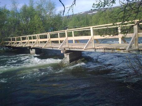Helags Husky, Brücke nachher