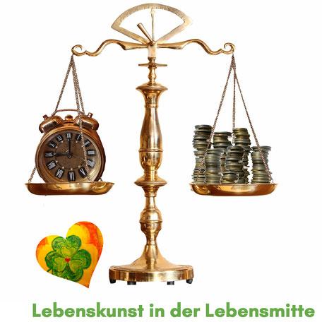 Waage: Work - Life - Balance Lebenskunst in der Lebensmitte Kerstin Frei Impuls Coaching