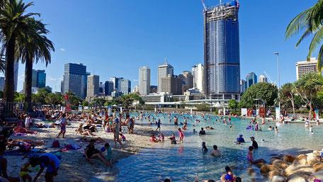 Reiseberichte Australien Brisbane