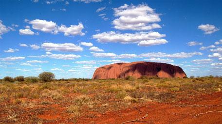 Reiseberichte Australien Ayers Rock