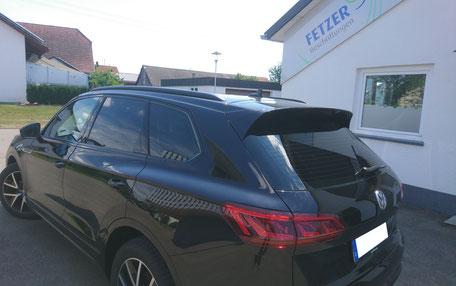 Tönungsfolie Sonnenschutzfolie VW Fetzer Beschriftungen Aldingen Aixheim