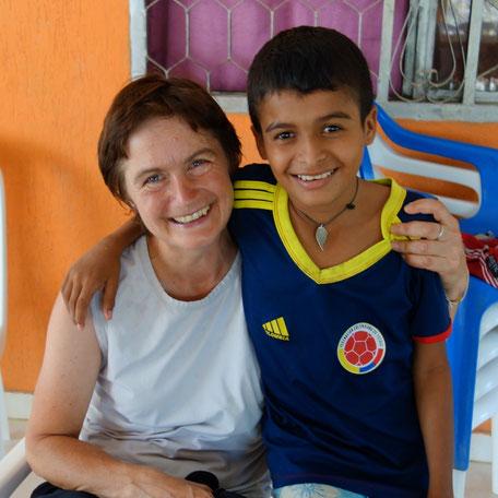 Eine Patenschaft bei Kolumbien direkt e.V. übernehmen