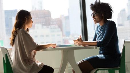 Soziale Distanz durch Arbeit im Home-Office