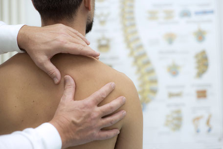 Rückenmassage, Lymphdrainage, Sportphysiotherapie