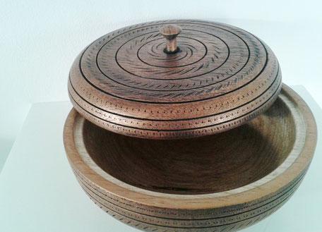 Pot avec couvercle sur mesure
