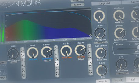 Exponential Audio Nimbus, one of the best reverb plugins