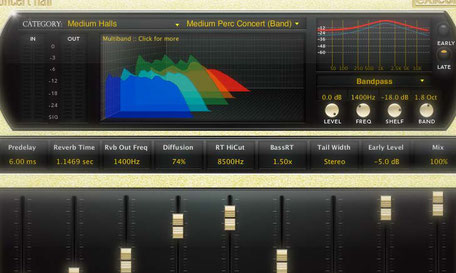 Perfect Reverb VST by Lexicon PCM