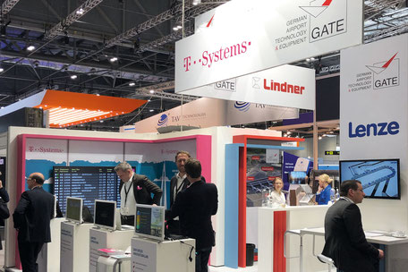 GATE and GATE member at exhibitions