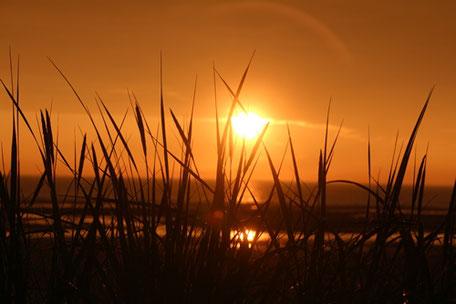 "Sonnenuntergang im Juni 2016 - ""Sankt-Hans-Aften"", Saltum-Strand"