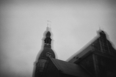 """LATVIA / Riga / From the book """"Auftakt"""". The Dom Cathedral, 2005"""