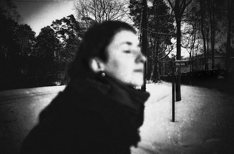 LATVIA / Riga / From the book 'Auftakt'. Girl with closed eyes, 01.2010