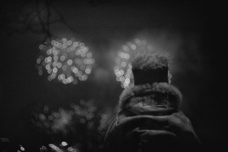 "LATVIA / Riga / From the book ""Auftakt"". Fireworks, 2006"