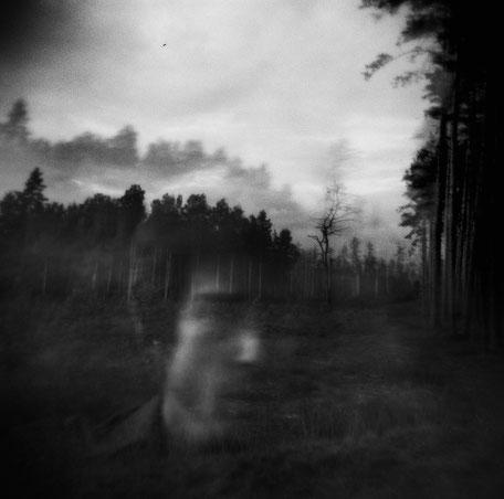 "LATVIA / From the book ""Auftakt"". Self-portrait.   Double exposure, 2007"