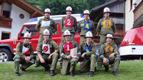 Bezirksbewerb Lienz in Hopfgarten im Def. 7.7.2012