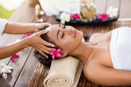 Anti Migräne Kopf Massage