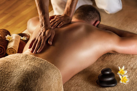 Sport oder Schwedische Massage