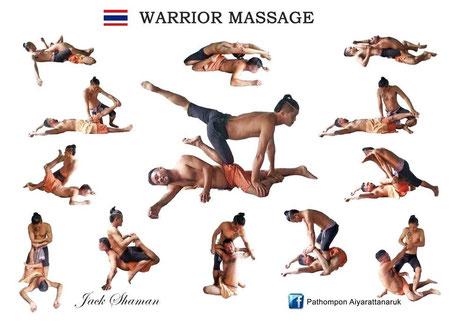 Thai warrior Massage