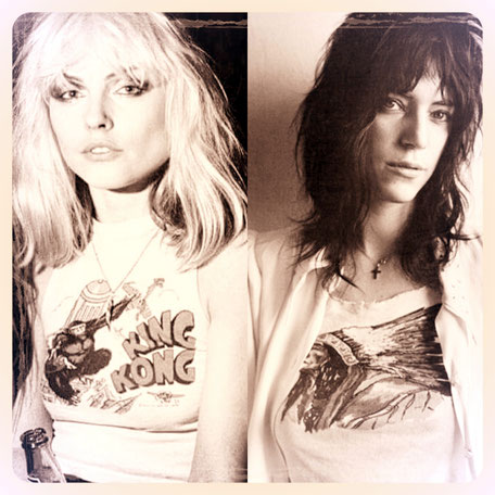 Patti Smith Debbie Harry iconen
