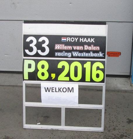P8 in seizoen 2016