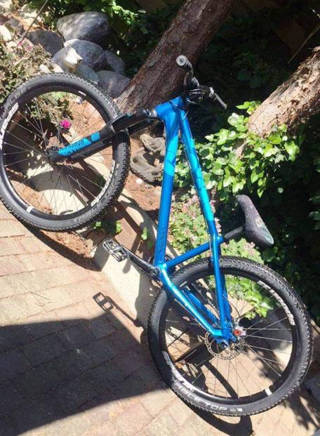 Dit is mijn fiets, een Canyon