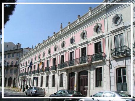Das Goethe-Institut in Lissabon - gleich neben der Deutschen Botschaft