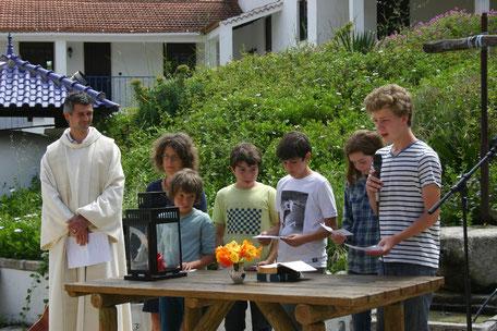 Open Air-Gottesdienst beim Gemeinde-Retiro